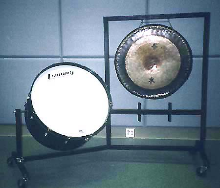 Bass Drum and Gong Carrier
